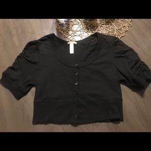 Ambiance Apparel Short Cardigan Top